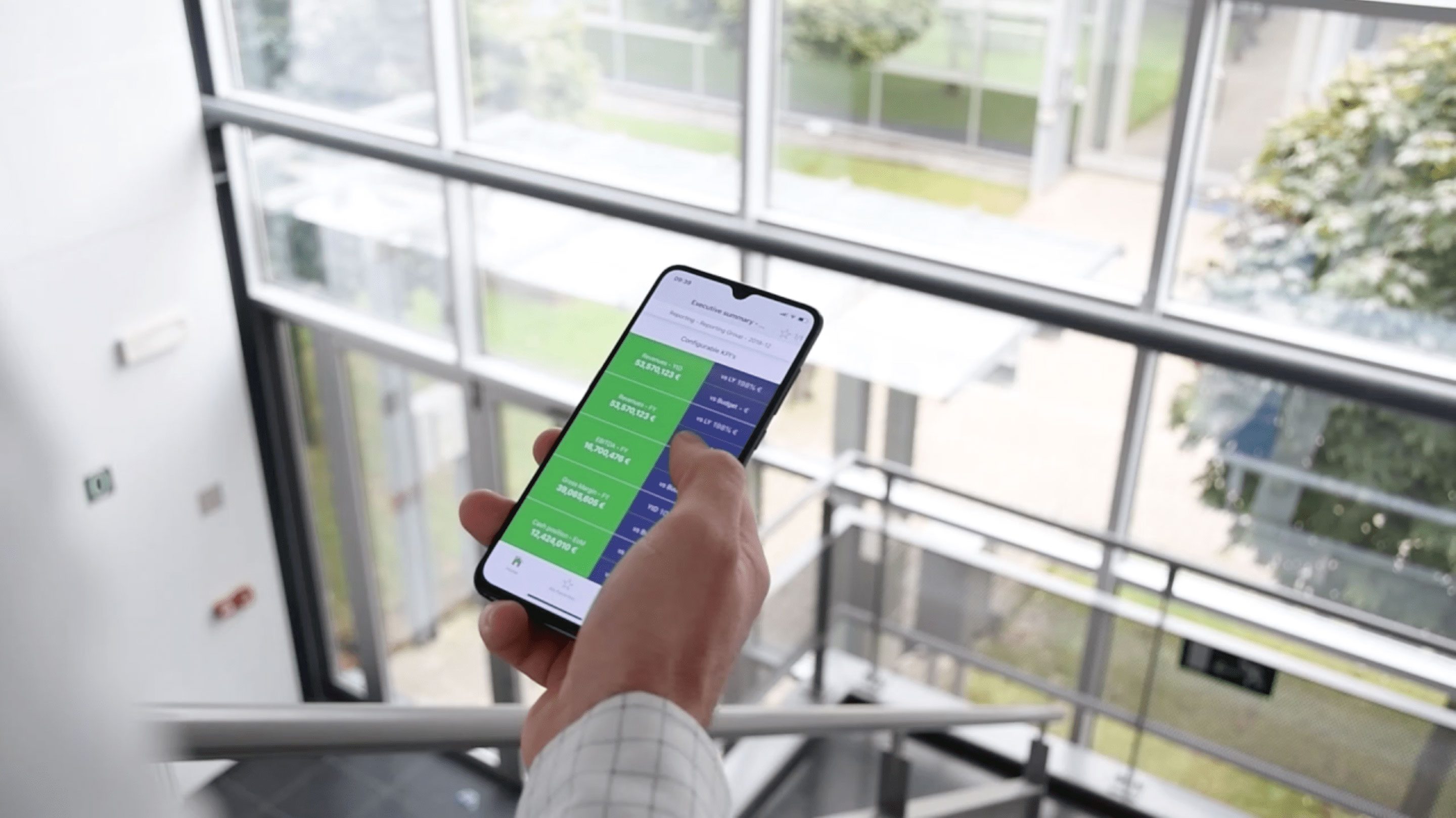 Application smartphone EMAsphere