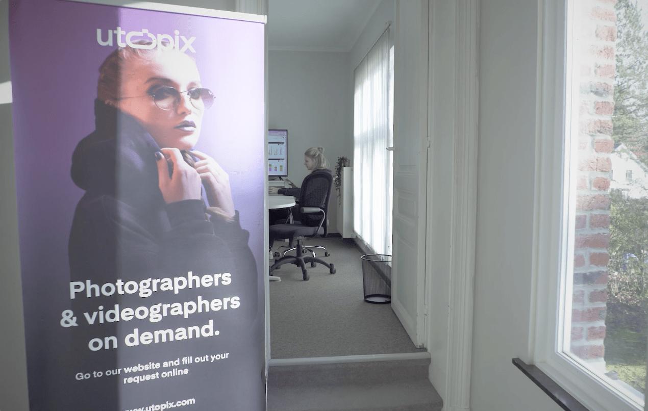 Sophie's kantoor - Co-CEO van Utopix