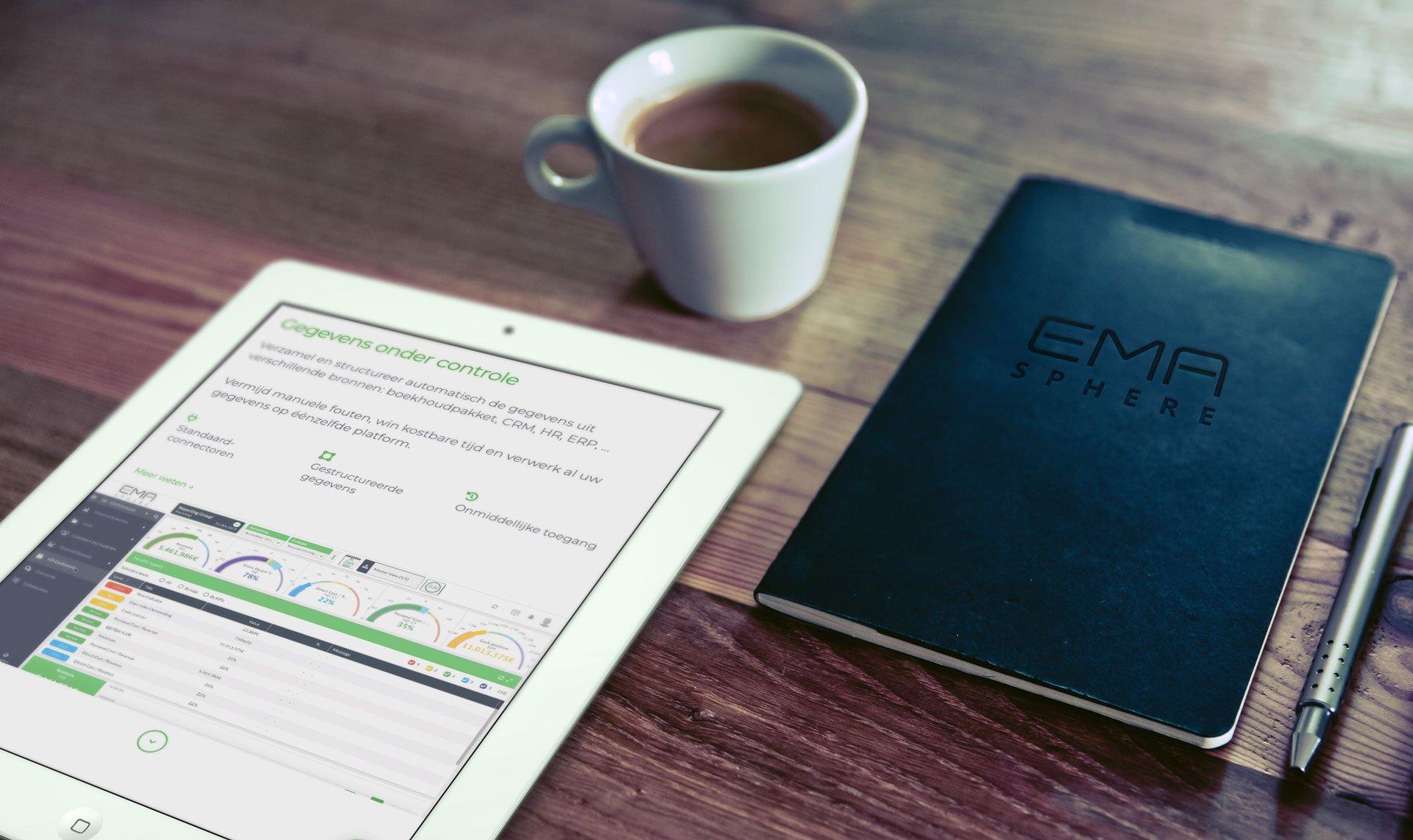 iPad EMAsphere