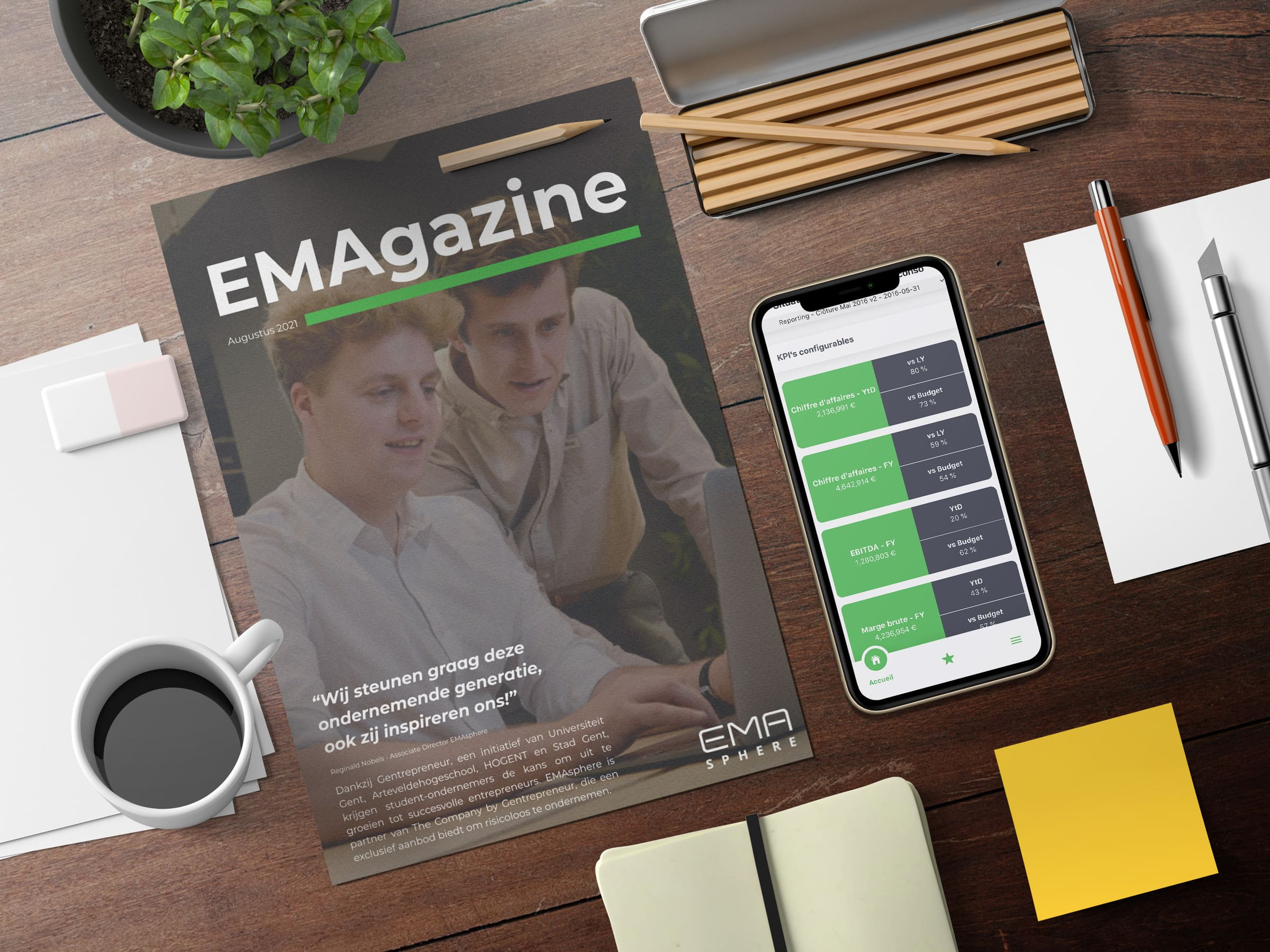 EMAgazines Header Mockup