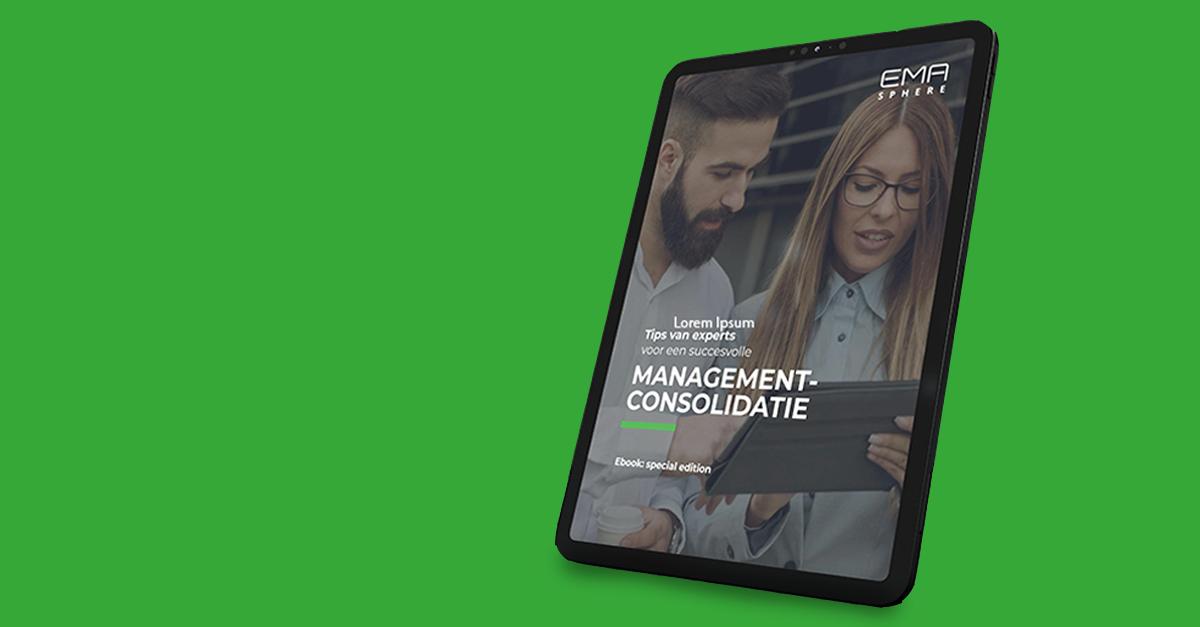 Ebook over managementconsolidatie